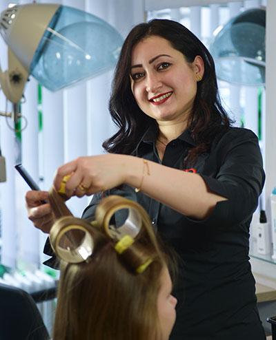 Das Friseur Duo Luebeck   Marwah Alobaidi